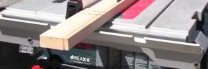 Wie funktioniert eine Tischkreissäge?